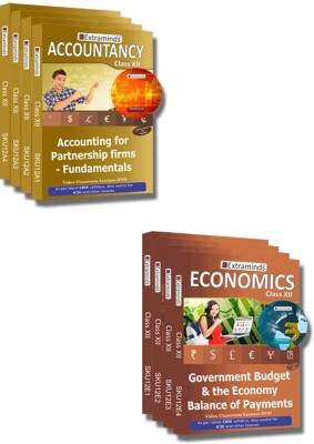 Extraminds Class XII – Combo – Accountancy-Economy- Lecture DVD