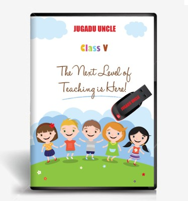 JUGADU UNCLE 5th Class Maths & Evs Animation Study Material