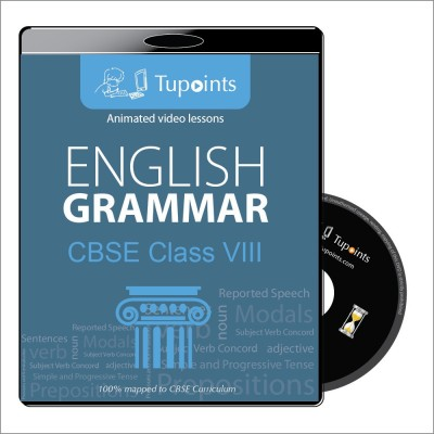 Tupoints CBSE class 8 English Grammar Multimedia Video Lessons