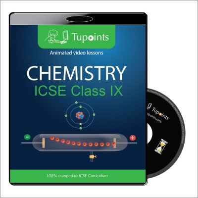 Tupoints ICSE class 9 Chemistry Multimedia Video Lessons