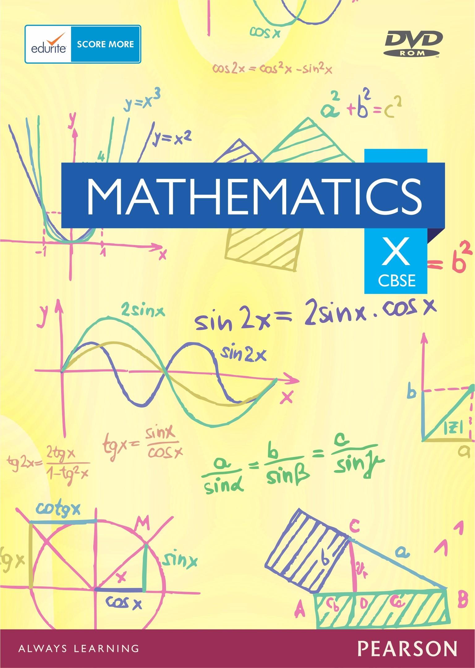 Edurite CBSE Class 10 Maths(DVD)