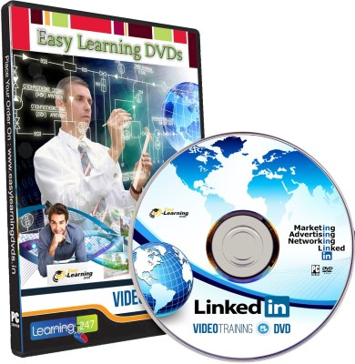 Easy Learning Advanced LinkedIn (12 Course) Video Training Tutorial DVD