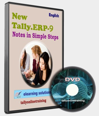 elearning solutions Tally ERP 9 Notes in Simple Steps in English