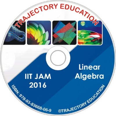 Trajectory Education Linear Algebra (Iit Jam Maths 2016)(DVD)