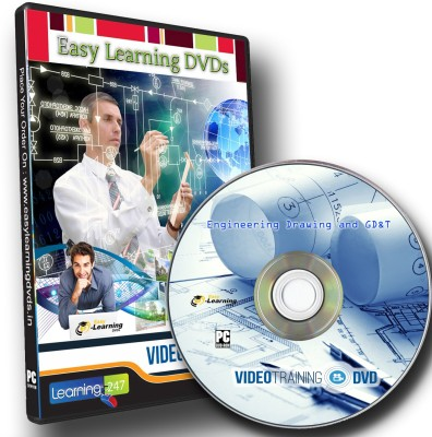 Easylearning Engineering Drawing and GD&T Video Tutorial DVD