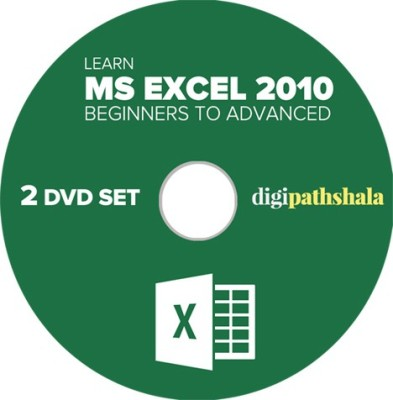 Digi Pathshala Learn Ms Excel 2010 From Beginner To Advanced Level 2 Dvd Set (52 Video Lectures, 36 Pdf,S)
