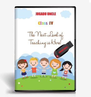 JUGADU UNCLE 4th Class Maths & Evs Animation Study Material