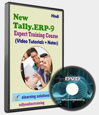 elearning solutions Tally ERP 9 Expert Traning Course in Hindi