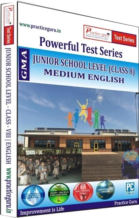 Practice Guru Powerful Test Series Junior School Level Medium English (Class 8)