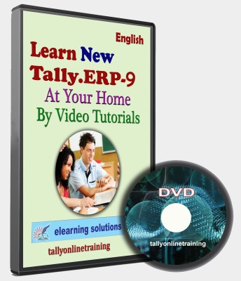 elearning solutions Tally ERP 9 at Your Home in English