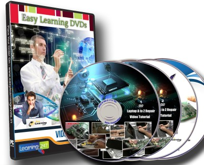 Easy Learning Laptop A to Z Repair Course Video Training, Service Manuals And Drivers 4 DVDs(DVD)