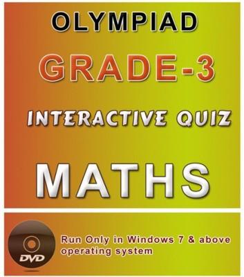 iBooks Class 3 Maths Olympiad Interactive Quiz DVD