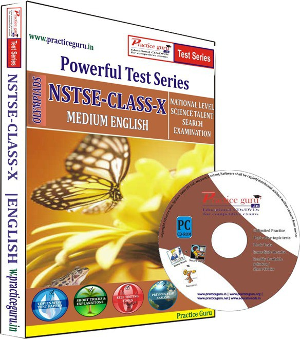 Practice Guru NSTSE Class 10 Test Series(CD)