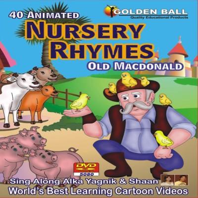 Golden Ball 40 Animated Nursery Rhymes Old Macdonald