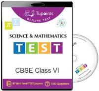 Tupoints Cbse Class 6 Science And Mathematics Offline Test(DVD)
