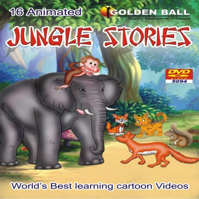 Golden Ball 16 Animated Jungle Stories