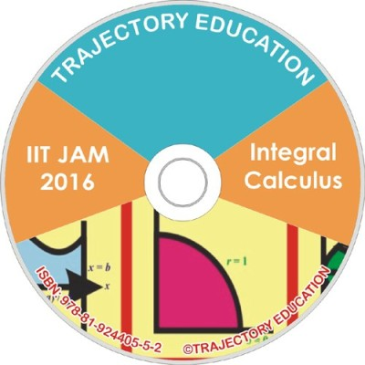Trajectory Education Integral Calculus (Iit Jam Maths 2016)(DVD)