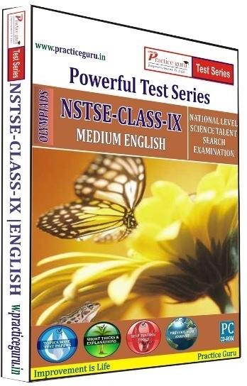 Practice Guru Powerful Test Series NSTSE Medium English (Class - 9)(CD)