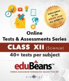 Edubeans Beans XII Science Online Tests ...