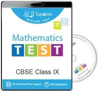 Tupoints Cbse Class 9 Maths Offline Test(DVD)