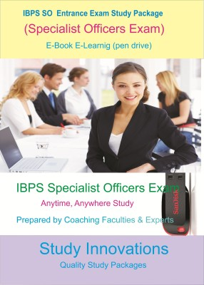 Study Innovations IBPS SO (Specialist Officer) Exam Study Package