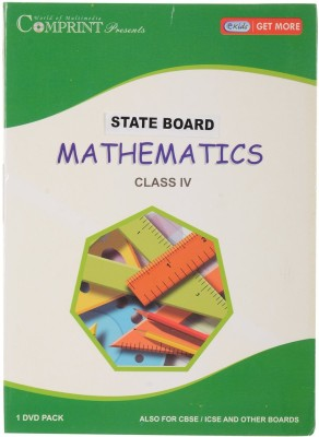 COMPRINT State Board Class 6 Mathematics DVD