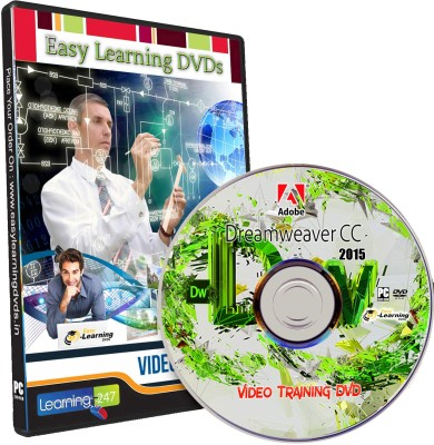 Easy Learning Adobe Dreamweaver CC 2015 Video Training Tutorial DVD