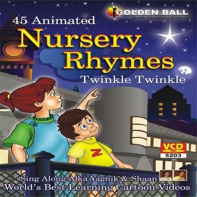 Golden Ball 45 Animated Nursery Rhymes Twinkle Twinkle Little Star