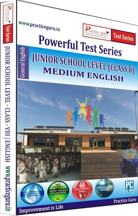 Practice Guru Powerful Test Series - Junior School Level Medium English (Class - 8)