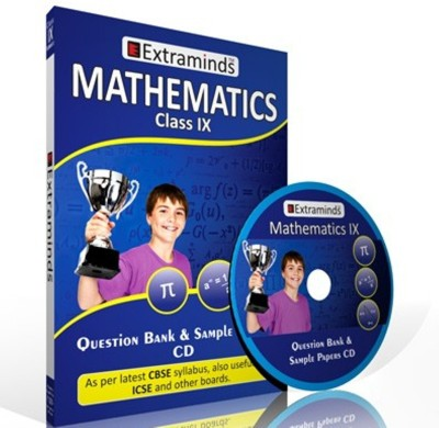 Extraminds Question Bank Math IX