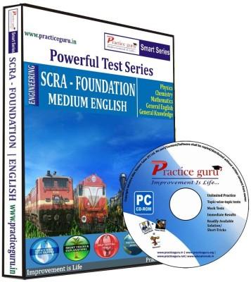 Practice Guru Powerful Test Series - SCRA - Foundation Medium English
