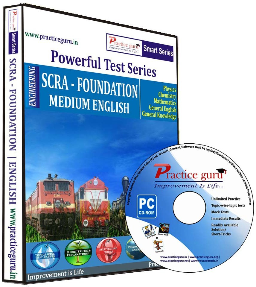 Practice Guru Powerful Test Series - SCRA - Foundation Medium English