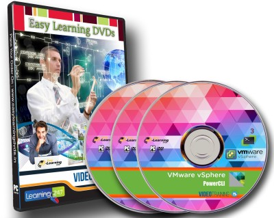 Easy Learning VMware vSphere PowerCLI Video Training On 3 DVDs