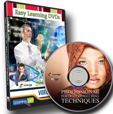 Easy Learning Professional Portrait Retouching Techniques Video Tutorial DVD