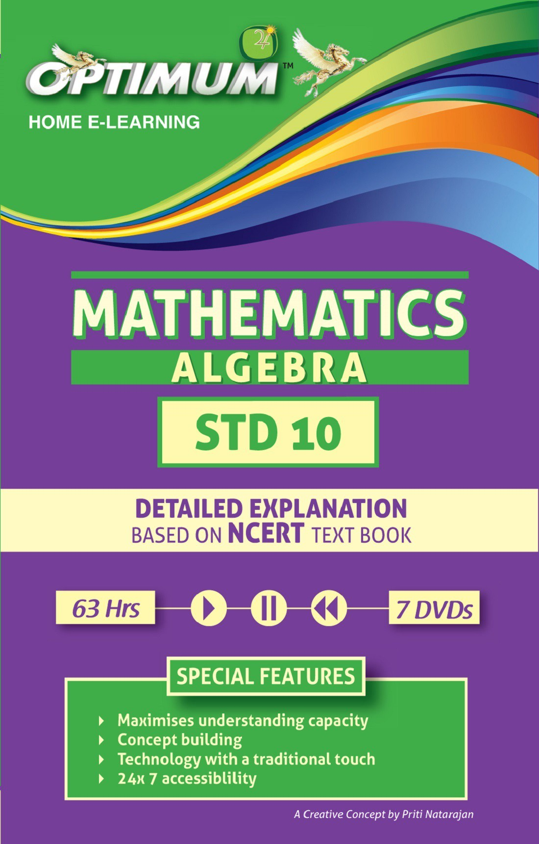 Optimum Educators CBSE-Class 10-Algebra(DVD)