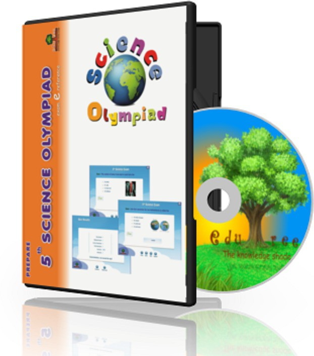 Edutree 5th Science Olympiad (In Englilsh ) Exam e Series -Interactive Tests(1 Interactive CD Pack - Prepared by Expert Team of Teachers)