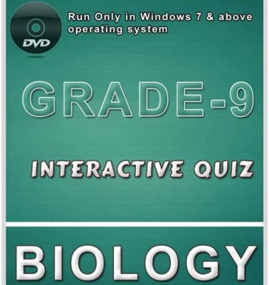 iBooks Class 9 Biology Interactive Quiz DVD