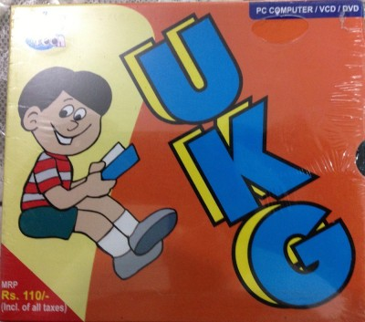 S.Chand UKG VCD FOR JUNIORS
