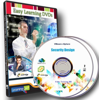 Easy Learning VMware vSphere Security Design Video Training Complete Course On 2 DVDs