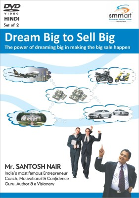 Smmart Dream Big To Sales Big (Set Of 2)