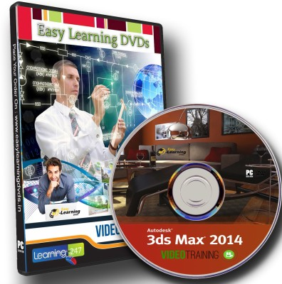 Easylearning Autodesk 3ds Max 2014 Video Training Tutorial DVD
