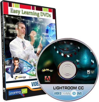 Easy Learning Adobe Lightroom CC Video Training Tutorial DVD
