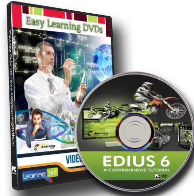 Easy Learning EDIUS 6 A Comprehensive Video Training Tutorial Course DVD