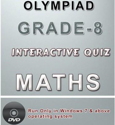 iBooks Class 8 Maths Olympiad Interactive Quiz DVD