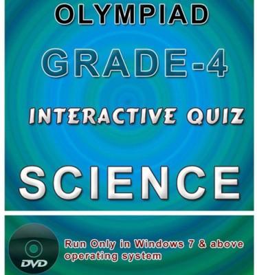 iBooks Class 4 Science Olympiad Interactive Quiz DVD