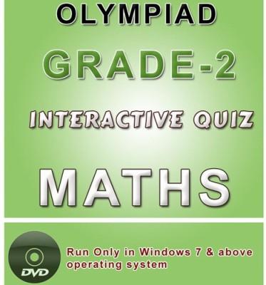 iBooks Class 2 Maths Olympiad Interactive Quiz DVD