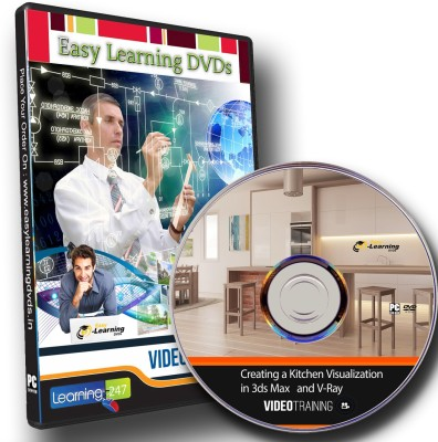 Easylearning Create a Kitchen Visualization in 3ds Max and V-Ray Video Tutorial DVD