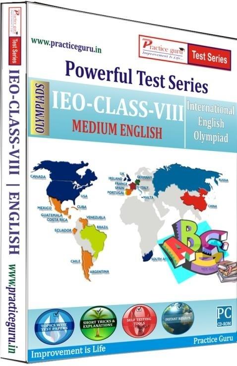 Practice Guru Powerful Test Series - IEO Medium English (Class - 8)