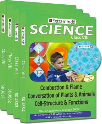 Extraminds Class VIII – Combo Science – Lecture DVD
