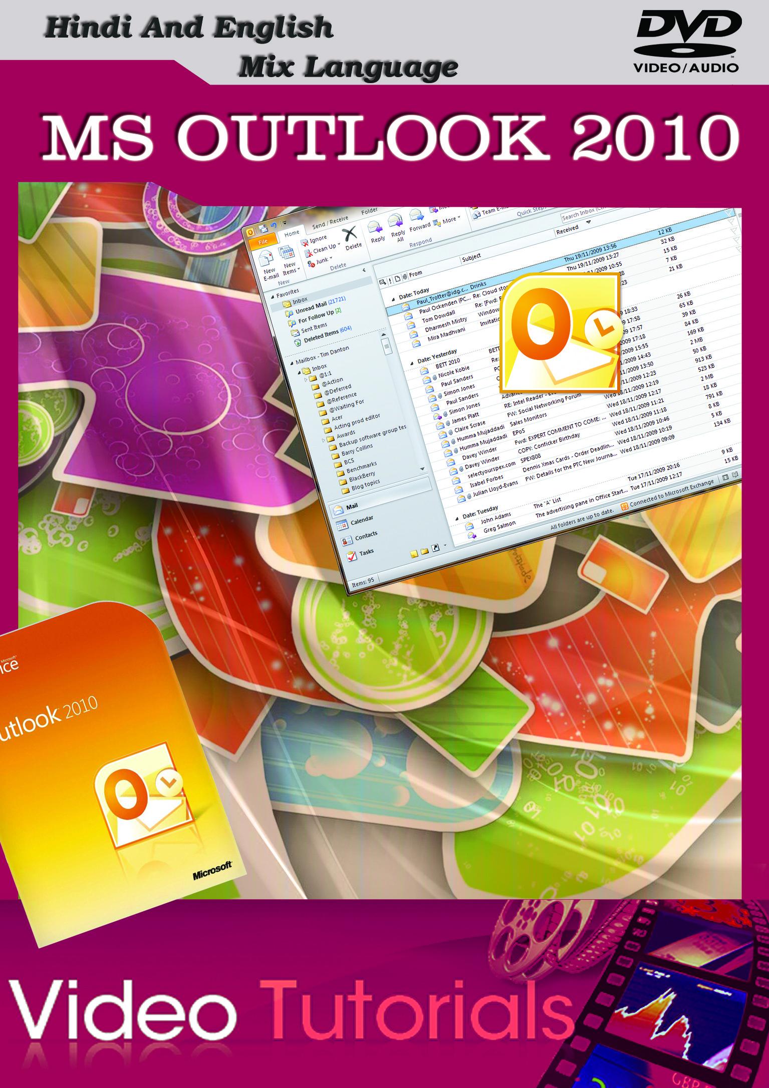 Lsoit Microsoft Outlook 2010 Tutorials DVD Tutorials(DVD)